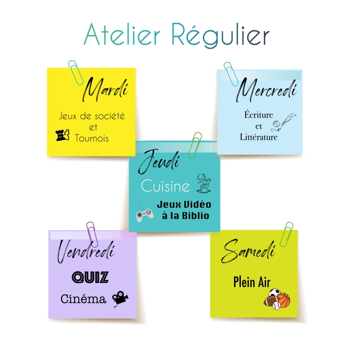 Aterlier regulier 2